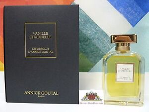 VANILLE CHARNELLE LES ABSOLUS D' ANNICK GOUTAL EDP SPRAY 2.5 OZ/75 ML NEW IN BOX