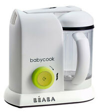 Beaba Babycook 4 In 1 Baby Food Maker Neon Cook Steam Reheat Blend BPA Free NEW