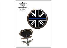 Royale BADGE auto grill e accessori-polizia britannica SOTTILE LINEA BLU-b2.2357