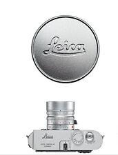 Metal Silver Lens Cap per Leica L39 E39 39mm Summicron Summaron Tinra 35/2 M50/2