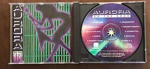 AURORA On The Edge CD ULTRA RARE 1990 AOR MHR MELODIC HARD ROCK OOP