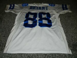 REEBOK ONFIELD DALLAS COWBOYS #88 DEZ BRYANT 50th ANNIVERSARY FOOTBALL JERSEY 48