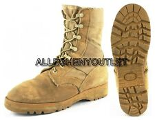 US Military HOT WEATHER COMBAT BOOTS Desert Tan Mens 6.5 XW Womens 8.5 XW EXC
