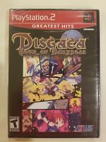 Disgaea: Hour of Darkness Sony PlayStation 2 [PS2, Greatest Hits, Atlus] NEW