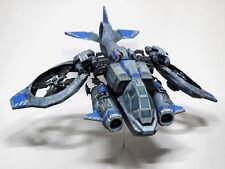 StarCraft 2 Terran Human Atttack Vessel Planetary Craft Banshee Paper Model 11cm