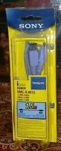 Sony iLink Cable VMC-IL4615 IEEE 1394 S400 Handycam 4 Pin Jacks New Sealed