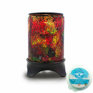 Owlchemy RAINBOW Electric wax burner with light & dimmer and summer scents