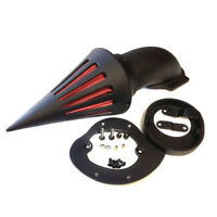 For 1986-2012 2011 Yamaha V-Star 650 Black Spike Air Cleaner filter intake Kit
