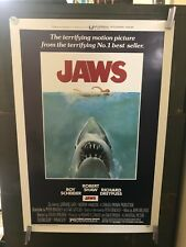 """Vintage Poster """"Jaws"""" Poster Horror Richard Dreyfuss S/S Iconic"""