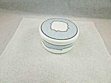 Wedgwood Venice Bone China Covered Trinket Dish In Box