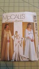 McCalls M4378 Medieval Hooded Cape Dress Pattern SCA M4378 Size 12-18 UNCUT