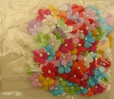 Lot de Fleurs en papier mulberry (mûrier) multicolores