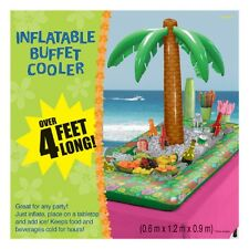 Inflatable Blow up Food & Drink Cooler Beer Chiller Hawaiian Luau Party Supplies