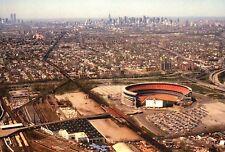 Aerial View of Shea Stadium, New York City, NFL Football & MLB Baseball Postcard