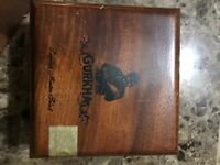 Empty Gurkha Limited Master Select 356 Wood Wooden Cigar Box