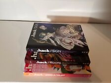 hack//Sign + Legend of the Twilight + Roots Complete Anime DVD Bundle R1
