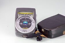 Photometer Gossen Lunasix 3 Light Meter Cds Excellent Made in Germany
