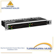 Behringer FBQ1502HD Ultragraph Pro 15-Band Stereo Graphic Equalizer with FBQ