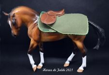 couvre-rein et tapis exercise sheet and pad pour cheval type Breyer