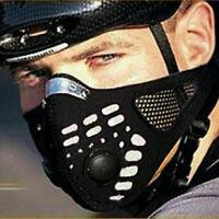 Dustproof Fahrrad Super Radfahren Motorrad Racing Ski Half Face Schild Filter
