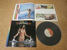 Seldom in Hawaiian Holiday ~ Frank Chacksfield/ Japan LP/ Booklet Sexy Cover G/F