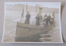 WW1 Photo - Pinnace carrying Sir Henry Wilson, Constantinople