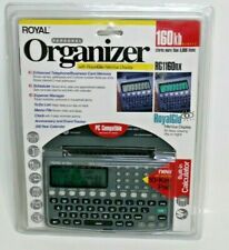 Royal Personal Organizer RG1160nx PDA 160KB w/ Royal Glo Nite Vue NEW sealed
