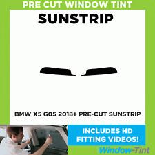 Pre Cut Sunstrip - BMW X5 G05 2018+ - Window Tint
