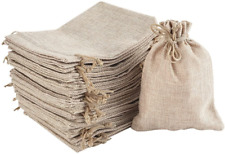 More details for irich 30 pcs drawstring burlap bags, resusable jute gift bag for jewelry wedding