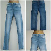 *NEW* Ladies Ex-H&M Skinny Fit Jeans Women's Denim Blue Jeans Size 6 - 20