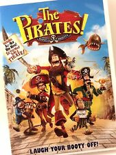 THE PIRATES! BAND OF MISFITS (DVD, 2012) NEAR MINT, Laugh Out Loud Funny!!