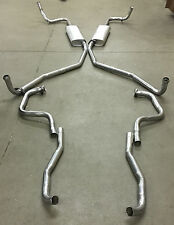 1966 BUICK RIVIERA DUAL EXHAUST SYSTEM, ALUMINIZED WITHOUT RESONATORS