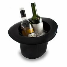 TOP HAT Ice Bucket Champagne Wine Bottle Cooler Drinking Vintage Retro Party Bar