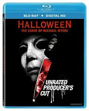 Halloween 6 The Curse of Michael Myers Producer's Cut (Blu-ray) Region A IMPORT