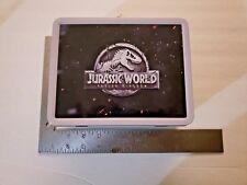 Jurassic World Fallen Kingdom (2018) Tin Lunch Box & Stickers Studio Promo SWAG