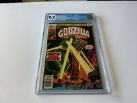 GODZILLA 2 CGC 9.2 WHITE PAGES SEATTLE UNDER SIEGE STORY COVER MARVEL COMICS