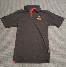 Majestic MLB Boston Red Sox Baseball Team Golfing Polo Shirt Small