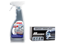 Nano Ceramic Armor COAT for car paint and SONAX Xtreme Full Effect Wheel Cleaner