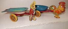 Wyandotte 2 Vintage Tin Easter Push Toys- Nice