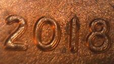 2018-P Doubled Die Obverse Lincoln Sheid Penny.