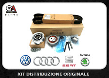 KIT DISTRIBUZIONE ORIGINALE VOLKSWAGEN VW CADDY III GOLF VI POLO 6R 1.6 2.0 TDI