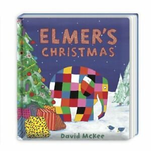 Elmer's Christmas: Board Book (Elmer Picture Books) by McKee, David Book The