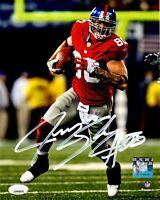 Jeremy Shockey autographed signed 8x10 photo NFL New York Giants JSA COA