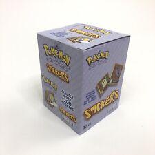 NEW SEALED 1999 Pokemon ArtBox Series 1 Sticker Box [30 Packs] *RARE* Stickers