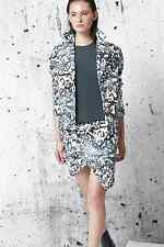 NWT Cameo Carry On Oil Print Bomber Jacket Coat Anthropologie $240 Sz Sm