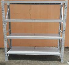 2 x 2 x 0.6d NOT 0.5. 800Kgs STEEL SHELVING  LONG SPAN METAL SHELVES GARAGE SHED