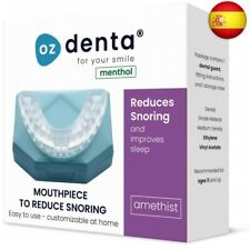 Menthol OzDenta Dispositivos Anti Ronquido Férula Dental Placa de Descarga
