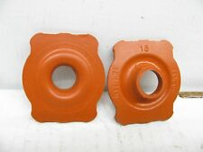 (x2) OEM Mopar For 1966-1974  E-body B-body Power Steering Coupler Seal  4019278
