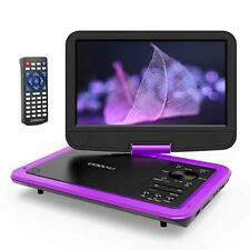 COOAU portable DVD player 10.5 inches high-definition LCD large-capacity recharg