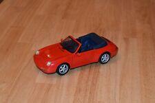 Maisto 1:18 1994 Porsche 911 Carrera Cabriolet - Red